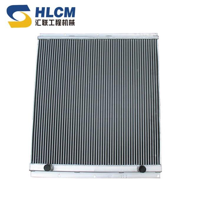 503铝散液压油散热器总宽725总长860